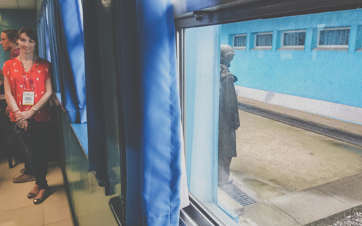 Melissa in North Korea - JSA, DMZ