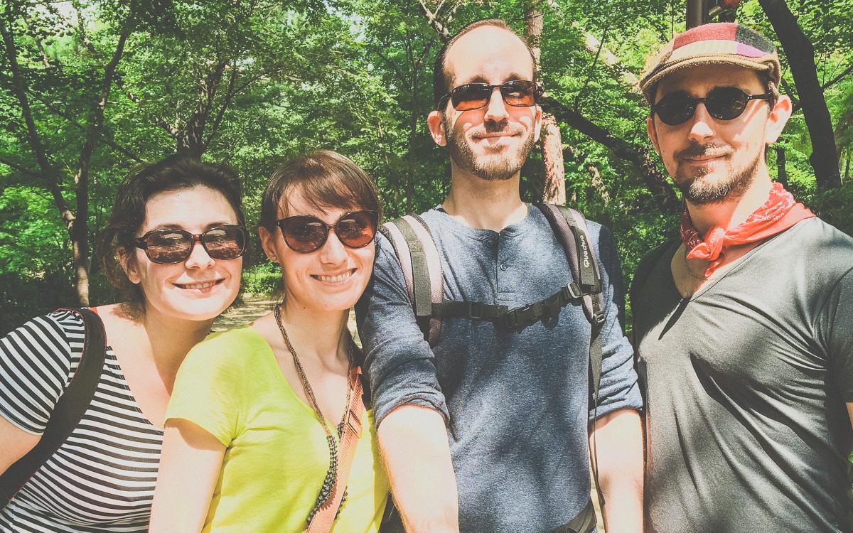 Bugaksan Fortress Trail Pre-Hike Selfie