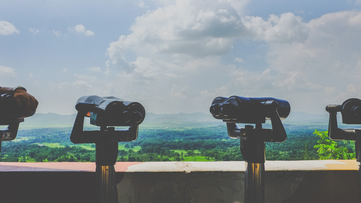 DMZ Dora Observatory Binoculars