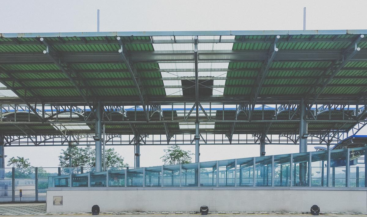 Empty Dorasan Station Platform