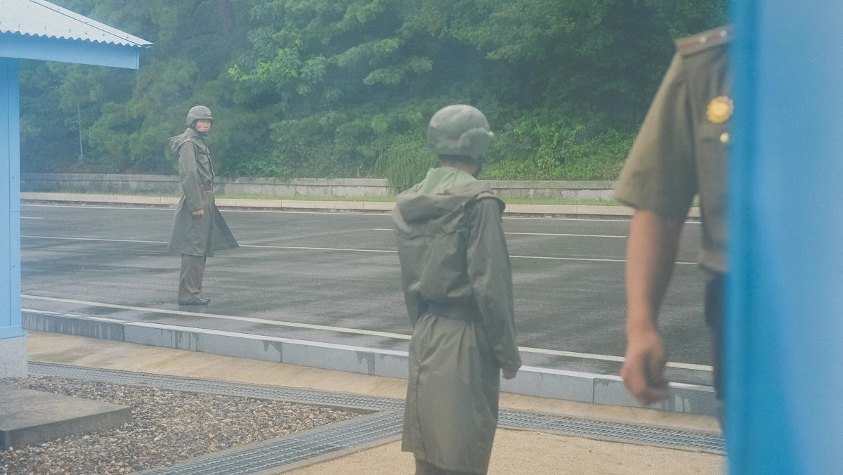 North Korean Soldiers at JSA, DMZ