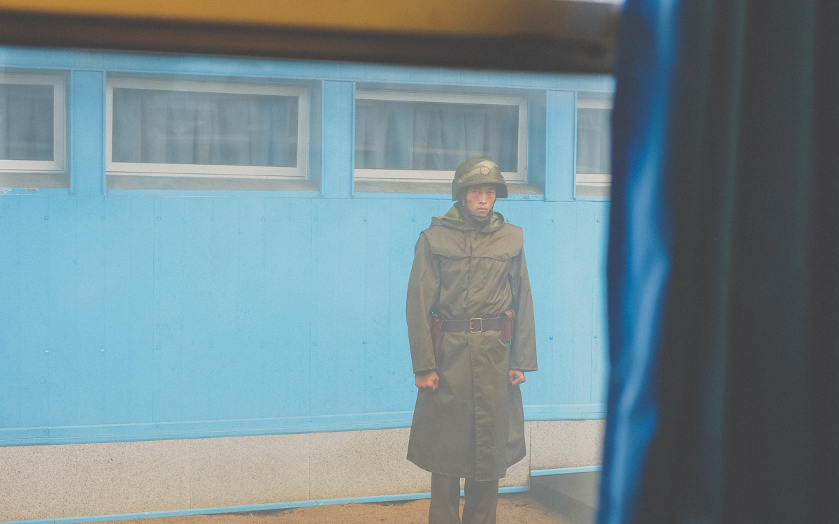 JSA North Korean Soldier