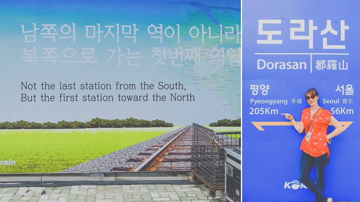 DMZ - Dorasan Station Signage